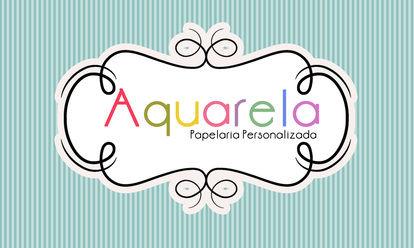 Aquarela Papelaria Personalizada