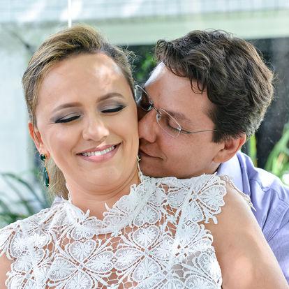 Caroline e Leonardo