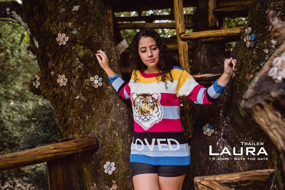 Laura - 15 anos - Save the date