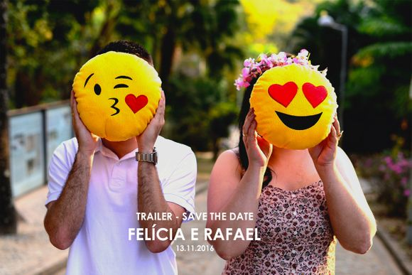 Felícia e Rafael - Save the date