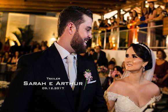 Sarah e Arthur - Trailer casamento