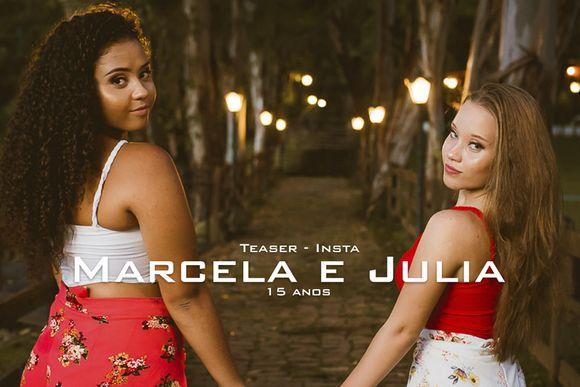 Teaser instagram - Marcela e Julia - 15 anos