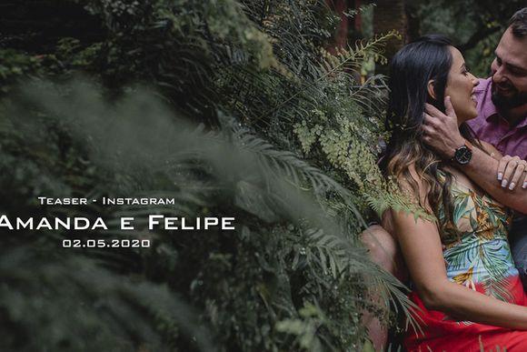 Amanda e Felipe - Save the date