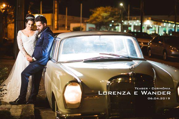 Teaser - Lorenza e Wander - Cerimônia