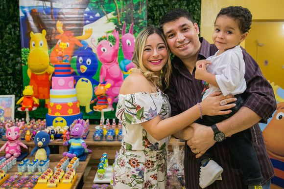 2 anos do Pedro | Backyardigans