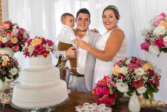 O Casamentário   Vanessa & Igor + Théo