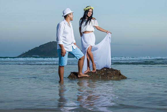 Bruna e Dudu - Ensaio Pré Wedding