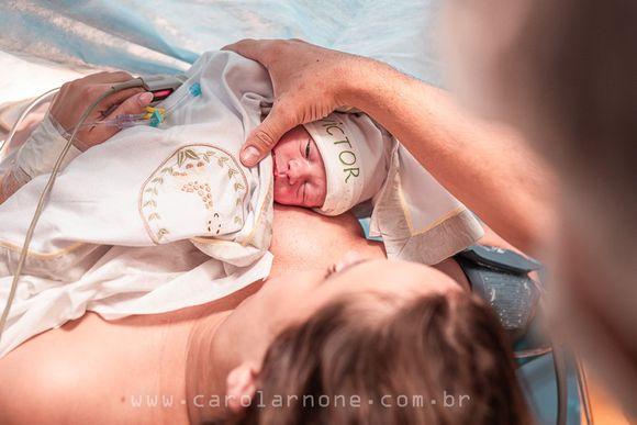 Nascimento Victor - Cesárea intraparto