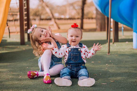 Ensaio Infantil | Laura e Lorena