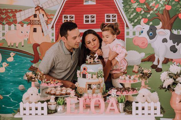 Festa Infantil | Eloa, 1 Ano