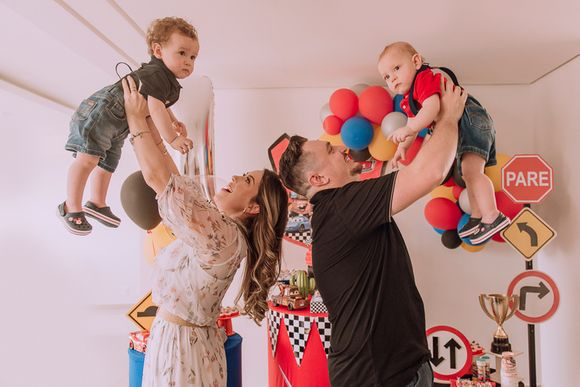 Festa Infantil | Joaquim & Benício, 1 Ano