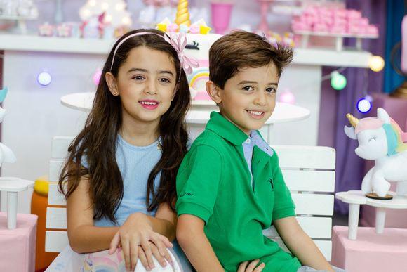Festa Sérgio antônio (6 anos) e Lavínia (7 anos)