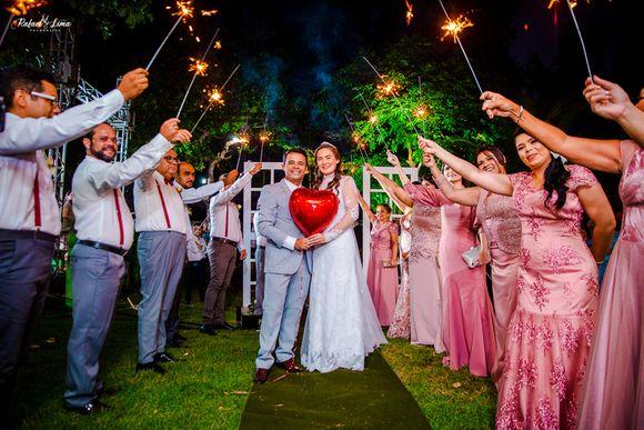 Casamento de Cláudio & Jacilene