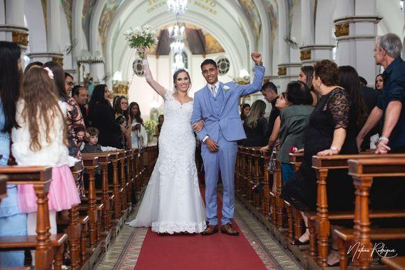 Fernanda & Vinícius | Casamento Religioso