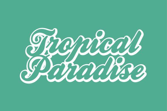 TROPICAL PARADISE - VERÃO 2018