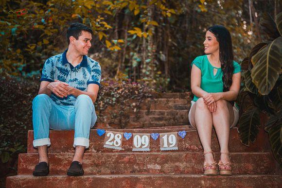 Lidiana e Rafael