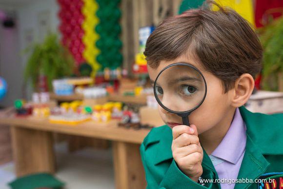Aniversário Gustavo 6 anos : Tema DPA ( Detetives do Prédio Azul)