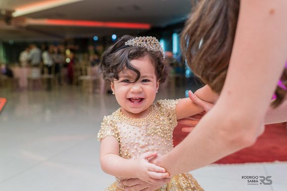 Maria Helena 1 aninho ; Tema Princesa