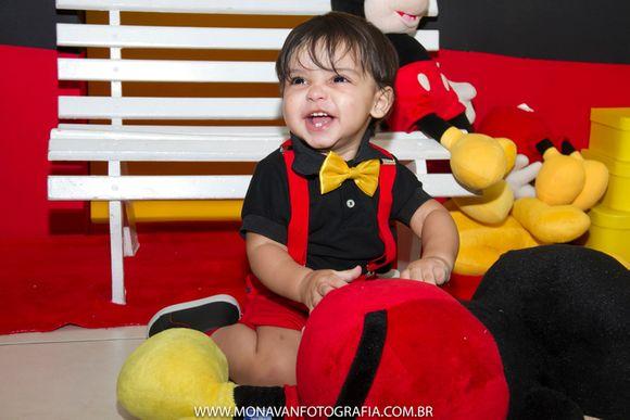 Aniversário Theo - Mickey