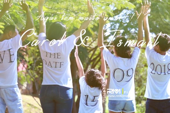 Carol & Ismaiil | Save The Date