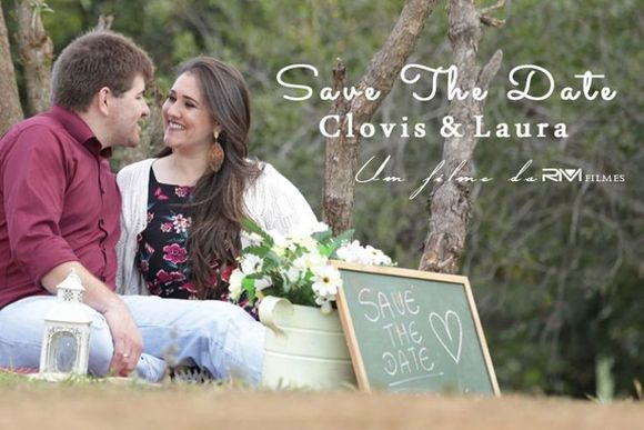 SAVE THE DATE | LAURA & CLOVIS