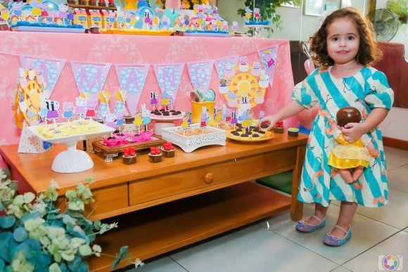 Aniversário da Amanda, 2 anos!