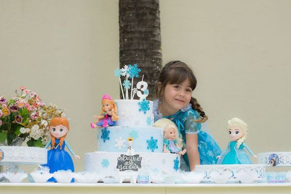Júlia comemora 3 aninhos