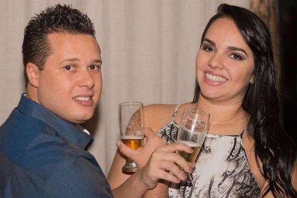 Jantar de casamento civil da Natália & Marcos