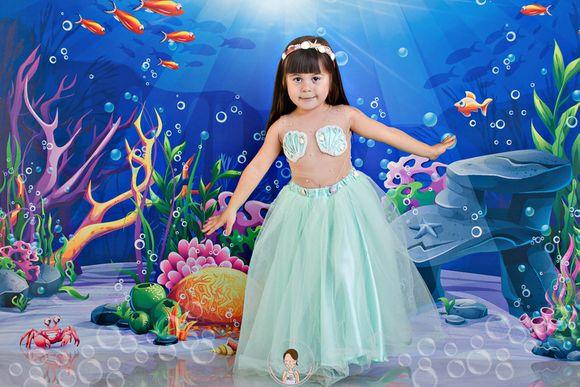 Maria Valentina, 4 anos