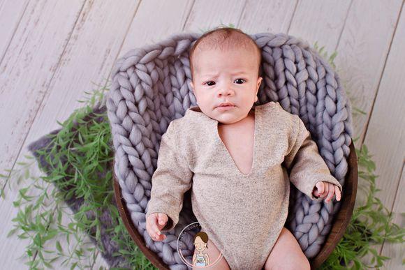 Isaac, 3 meses