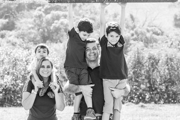 Mik + Rogerio e família