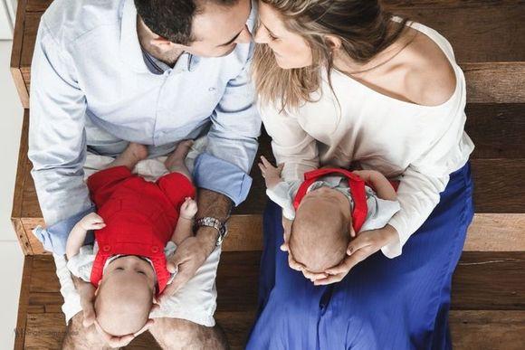Sessão família com Theo e Luca