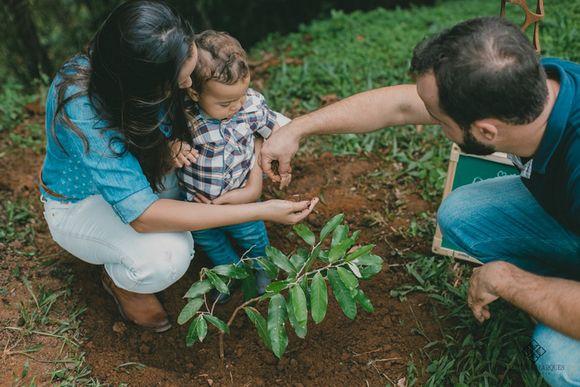Henrique e família , 1 ano