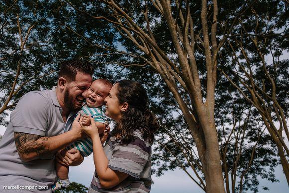 Ensaio Familia - Pedro + Tatiana = Davi