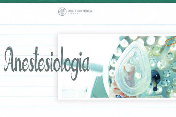 REC, RESIDÊNCIA DE ANESTESIOLOGIA