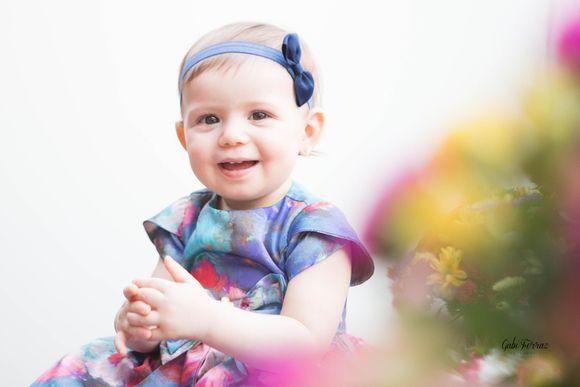 Maria Luíza fez 1 aninho!
