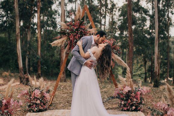 Elopement wedding - Larissa & Wesley