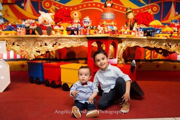 5 Anos Álvaro e 1 Aninho Guilherme
