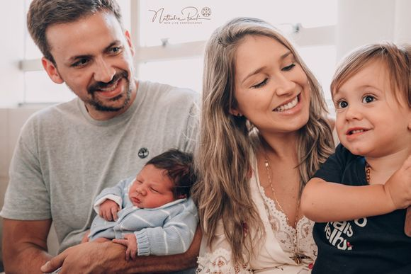 Maternidade - O encontro do José e do Levi