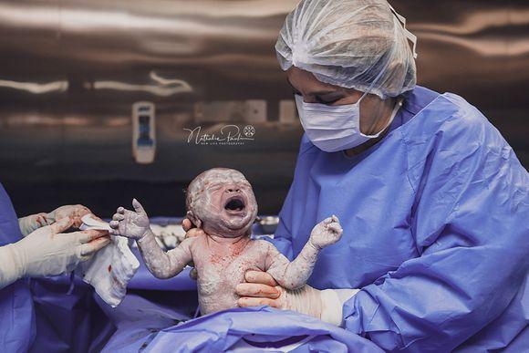 Nascimento do Gabriel - Parto Cesárea