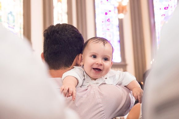 Batizado do Miguel