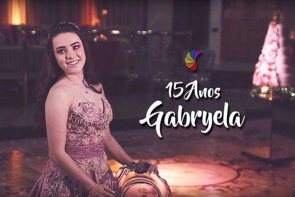 15 anos Gabryela