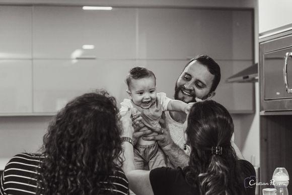 Caetano & família.