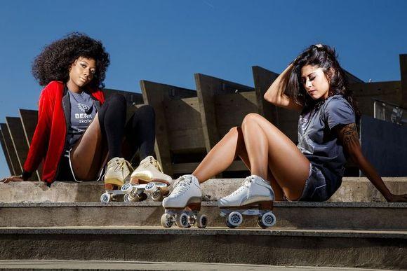 Alanna Damasceno e Lara Matta para Berry Skates NY