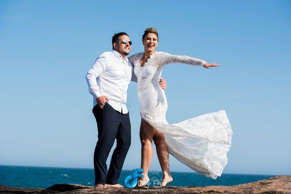 PRE Wedding e Making Of - Anna Carolina + Henrique