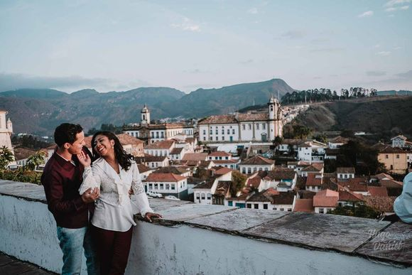 PRÉ WEDDING EM OURO PRETO, MICHELLE E ELIO